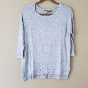 THE LIMITED Lightweight Light Gray Sweater